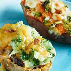 Double-Baked Double-Stuffed Potatoes