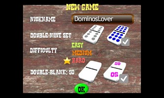 Screenshot of Chickie Dominos
