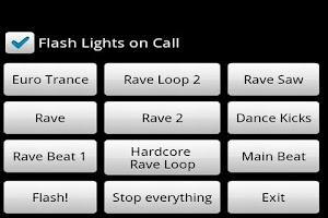 Screenshot of Mobile Rave