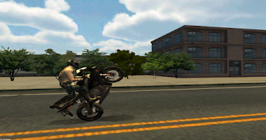 Screenshot of Street Drive City Bike Racing