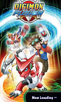 Screenshot of Digimon Fusion Fighters