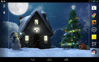 Screenshot of Christmas Moon