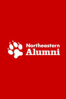 Screenshot of Northeastern Alumni Network