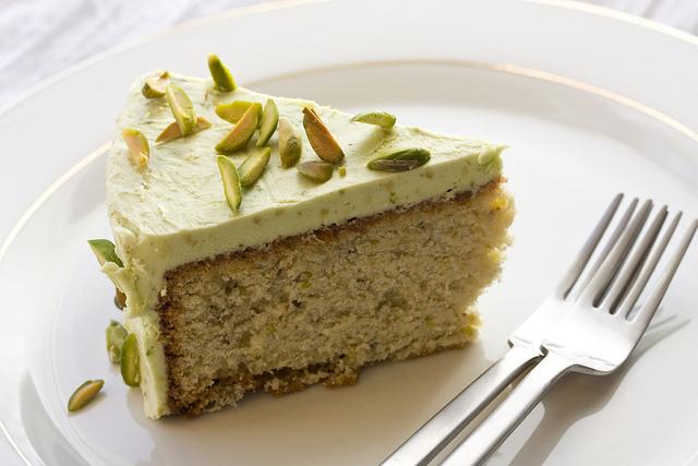 Pistachio Pound Cake With Drippy Icing Recipes — Dishmaps