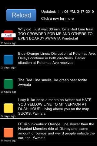wmata twitter map + arrivals