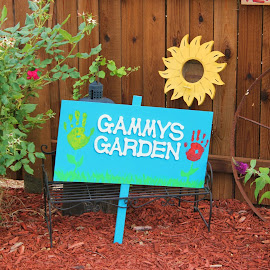 Gammy's Garden by Sherri Murphy - Novices Only Landscapes