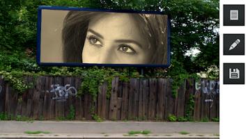 Screenshot of Hoarding Photo Frames