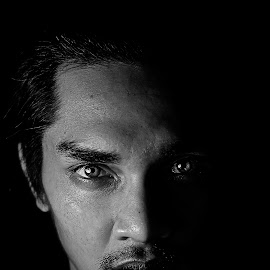 BnW by Sarol Glider - People Portraits of Men (  )