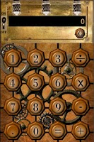 Screenshot of Steampunk Calculator