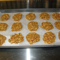 Low-Cal Low-Fat Oatmeal Carrot Cookies
