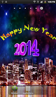 Screenshot of New Year HD Live Wallpaper
