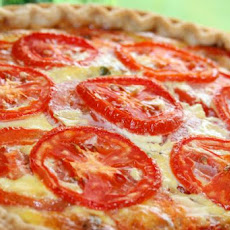 Tomato, Bacon, and Onion Quiche
