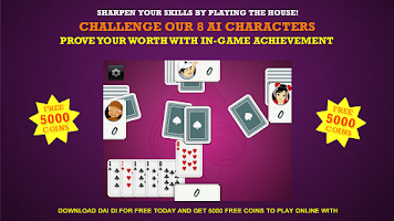 Screenshot of Big Dai Di - Big 2 Poker