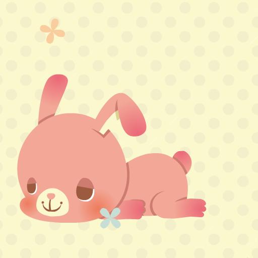 ぐうたらウサギ 個人化 App LOGO-APP開箱王