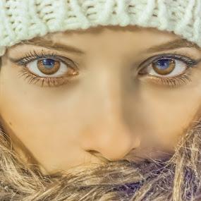 The Look by Srdjan Vujmilovic - People Body Parts ( exposure, canon, person, land, nightphotography, landscape, people, photography, dslr, astrography, share, macro, life, nature, photographer, weather, lonexposure, photoshop, milkyway, camera, like, photo, portrait, stars, night, day,  )
