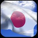 3D Japan Flag