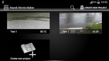 Screenshot of Movie Maker