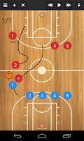 Screenshot of Basketball coach's clipboard