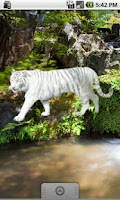 Screenshot of White Tiger Sticker