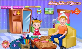 Screenshot of Baby Hazel Fishing Time