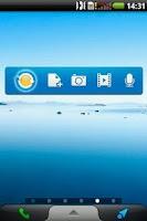 Screenshot of WebStorage Widget