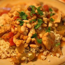 Chicken Stew with Tomatoes and White Beans