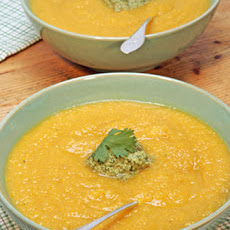Roasted Winter Squash and Apple Soup
