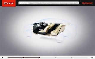 Screenshot of Honda City