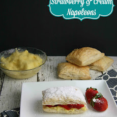 Strawberry & Cream Napoleon