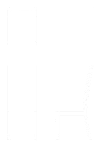 CAD Drawing of a Leather Upholstered Dining Chair in American Black Walnut