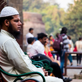 I am ready.. now click by Sohil Laad - People Portraits of Men ( outdoor, candid, men, people, street photography )