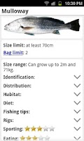 Screenshot of My Fishing Mate Pro Australia