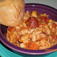 Crock Pot Sausage Pasta Stew