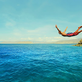 i believe i can fly by Zoel Cholid - Sports & Fitness Swimming