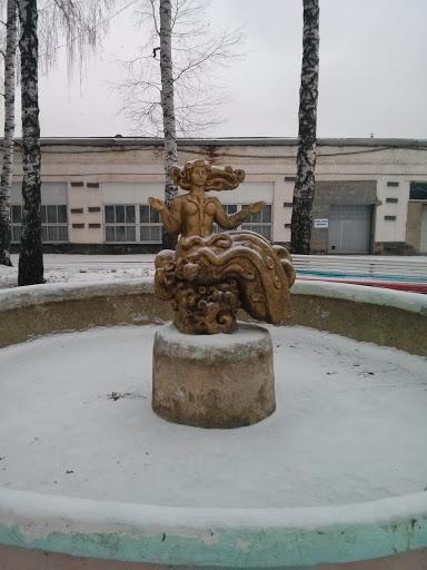 Фонтан На Пролетарской