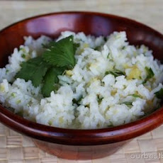 Lime-Cilantro Rice with Pineapple