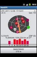 Screenshot of HamGPS