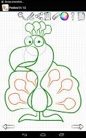 Screenshot of Learn to Draw Farm Animals