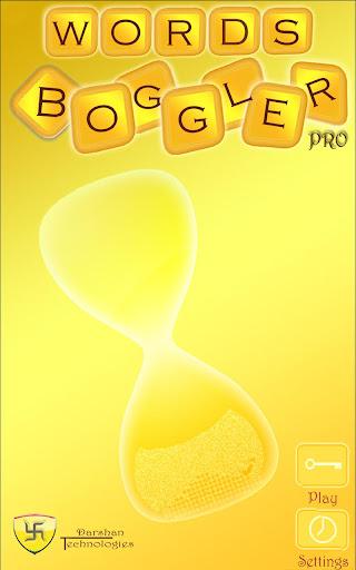 Words Boggler Pro