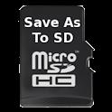SaveAs to SDCard (Free)