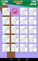Screenshot of Pinkie Princess Memory Game