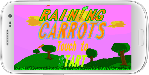 Raining Carrots - screenshot