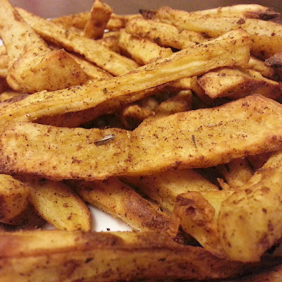 Baked Sweet Potato Fries with Boss Sauce