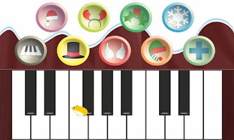 Screenshot of Kids' Christmas Piano Free