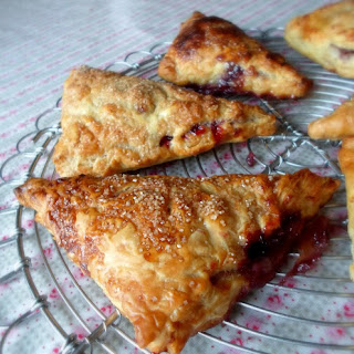 Brie & Berry Turnovers