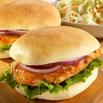 Grilled Chicken Sliders