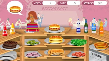 Screenshot of Burger Stand