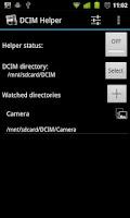 Screenshot of DCIM Helper