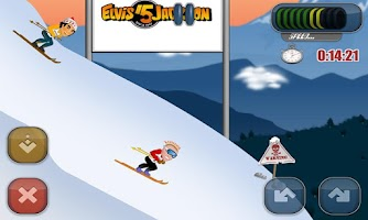 Screenshot of Filip Flisar Ski Cross