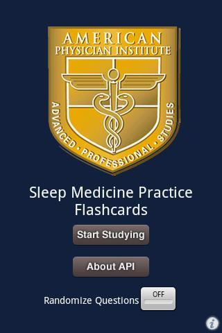 Sleep Medicine Flashcards